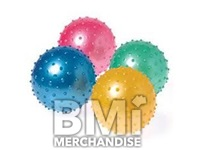 18IN ASSORTED COLOR KNOBBY BALLS DEFLATED - CRANE KIT