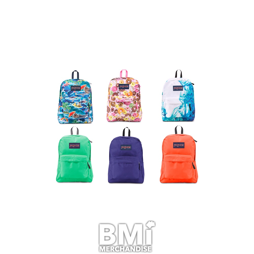 JANSPORT SUPERBREAK BACKPACK ASSORTMENT f5bc45436ebd5