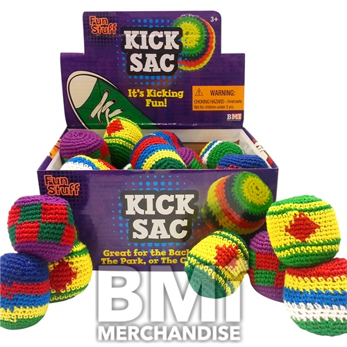 ASSORTED CROCHET KICK SACKS