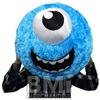 20IN PLUSH FUNNY FACE BALL ASSORTMENT