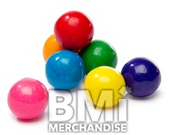 900PC 1INCH ASSORTED COLOR GUMBALLS