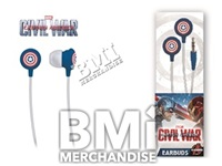 CAPTAIN AMERICA CIVIL WAR EARBUDS