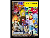 48PC 75% LICENSED 11-14IN JUMBO PLUSH CRANE KIT