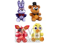 72PC 7IN 100% LICENSED FIVE NIGHTS AT FREDDY'S PLUSH CRANE KIT