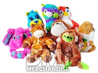 48PC JUMBO 11-14IN JUNGLE FUN PLUSH CRANE KIT