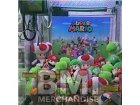 144PC MIX 8IN PLUSH 20% ASST MARIO BROS CRANE KIT