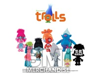 72PC 8-10IN TROLLS PLUSH CRANE KIT