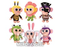 144PC MIX PLUSH 20% LIC WONDER PARK CHIMPANZOMBIE CRANE KIT
