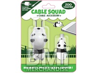 CHARACTER CABLE SQUAD PROTECTOR 2PK ASST