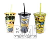 DESPICABLE ME MINIONS 16OZ COLD CUP ASSORTMENT