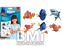 FINDING DORY 75 COUNT TATTOO ASSORTMENT