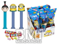 DESPICABLE ME MINIONS PEZ ASSORTMENT
