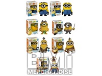 DESPICABLE ME MINION POP VINYL BOBBLE HEAD ASSORTMENT