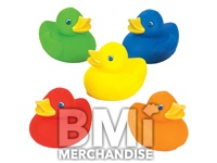 2INCH SOLID COLOR RUBBER DUCK ASSORTMENT