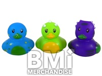 2 INCH DINOSAUR RUBBER DUCK ASSORTMENT