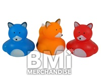 2 INCH FOX RUBBER DUCK ASSORTMENT