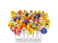 48PC 2INCH RUBBER DUCK ASSORTMENT