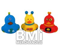 2 INCH ROBOT RUBBER DUCK ASSORTMENT