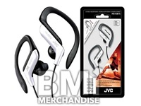 JVC SPORT ADJUSTABLE EARPHONES