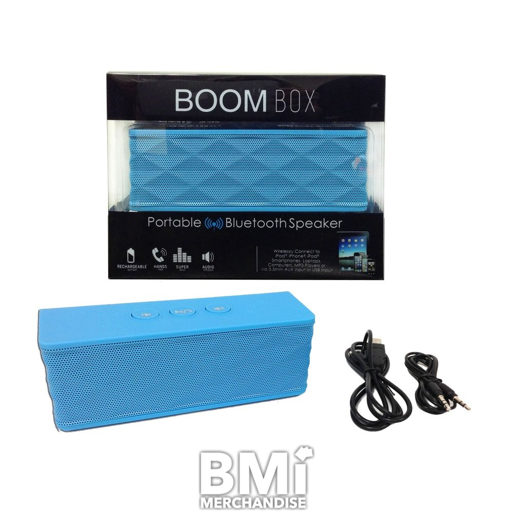 PORTABLE BLUETOOTH SPEAKER BOOMBOX - STRAPPED