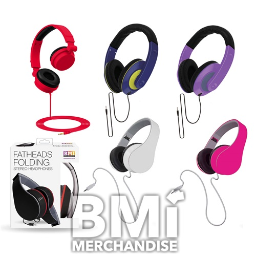 DJ HEADPHONES ASSORTMENT