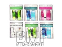 6PC ELECTRONIC ACCESSORY PACKS