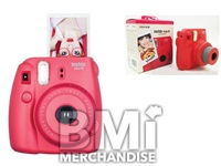 FUJI INSTAX MINI 8 INSTANT CAMERA - STRAPPED