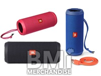JBL FLIP SPLASHPROOF BLUETOOTH SPEAKER - STRAPPED