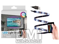 USB FLEXIBLE LED LIGHT UP STRIP W REMOTE