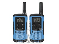 MOTOROLA 2-WAY RADIO WALKIE TALKIES - STRAPPED