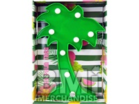 MARQUEE LIGHT PALM TREE 10IN