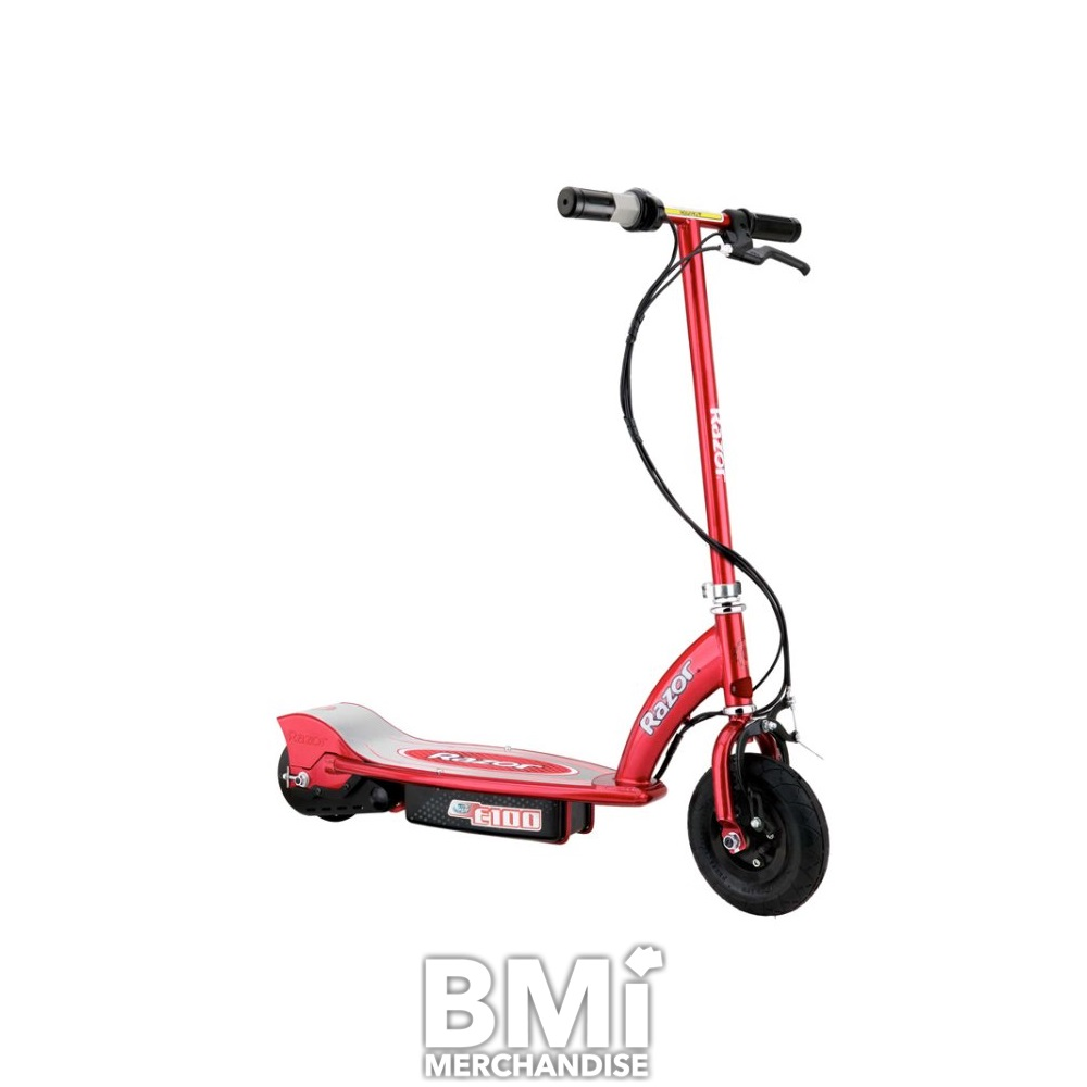 E100 Electric Red Razor Scooter