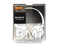 SONY SLIM SWIVEL FOLDING EARPHONES - STRAPPED