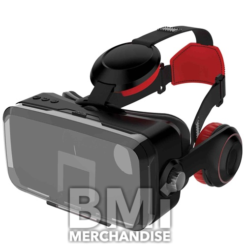 BLUETOOTH VR HEADSET WITH WIRELESS HEADPHONES