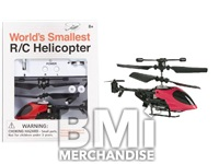 WORLDS SMALLEST REMOTE CONTROL HELICOPTER - STRAPPED