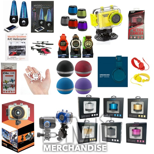 6PC FLAMIN FINGER MERCHANDISER PRIZE KIT