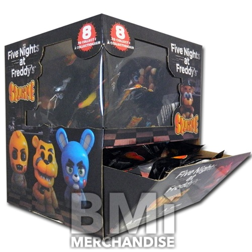 FIVE NIGHTS AT FREDDY'S SLOW RISE FOAM FIGURE IN BAG
