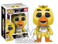 FIVE NIGHTS AT FREDDY'S - CHICA POP VINYL - STRAPPED