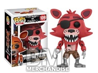 FIVE NIGHTS AT FREDDY'S - FOXY THE PIRATE POP VINYL