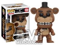 FIVE NIGHTS AT FREDDY'S - FREDDY POP VINYL - STRAPPED