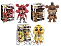 FIVE NIGHTS AT FREDDYS POP VINYL BOBBLE HEAD ASSORTMENT