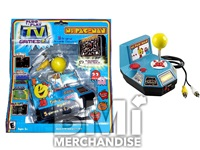 MS PAC-MAN PLUG AND PLAY TV ARCADE GAME - STRAPPED