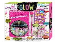 GLOW IN THE DARK SKETCHBOOK SET
