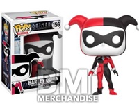 HARLEY QUINN POP VINYL FIGURE - STRAPPED