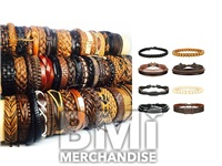 INDIVIDUAL LEATHER BRACELET ASSORTMENT
