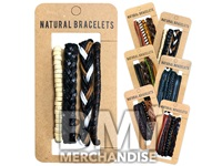 LEATHER BRACELET ASSORTMENT