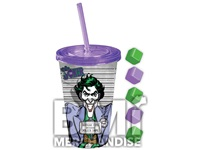16 OZ JOKER COLD CUP WITH ICE CUBES