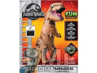 JURASSIC WORLD INFLATABLE ADULT COSTUME