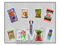 CANDY HANGING PRIZE KIT - 288 PCS