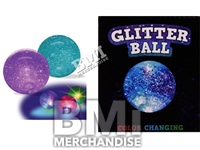 3IN GLITTER BALL LAMP